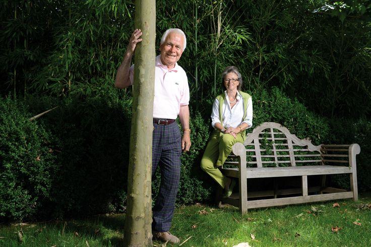 Marina et Roger Denogent, paysagistes de père en fille. © Olivier Evard