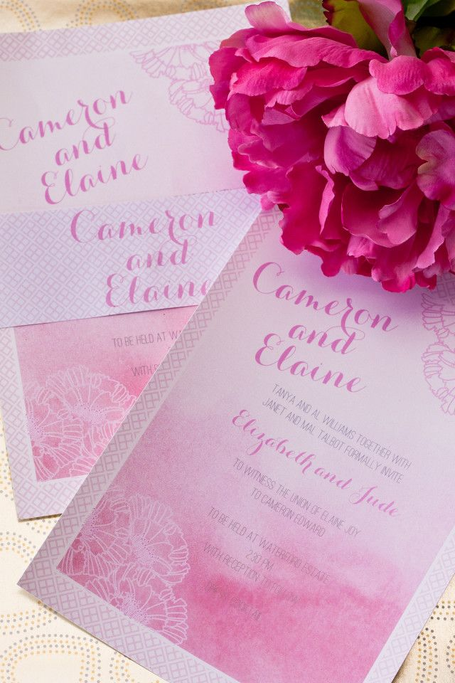 Featured Wedding Invitation Design: Adore Wedding Invitation Suite by I Will Invitations (2)