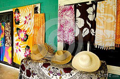Tropical Souvenir Shop in Aitutaki Cook Islands