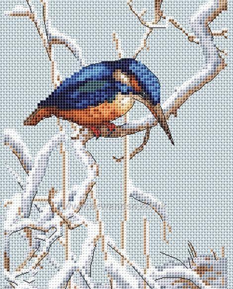 Buy+Let+It+Snow+Cross+Stitch+Kit+Online+at+www.sewandso.co.uk