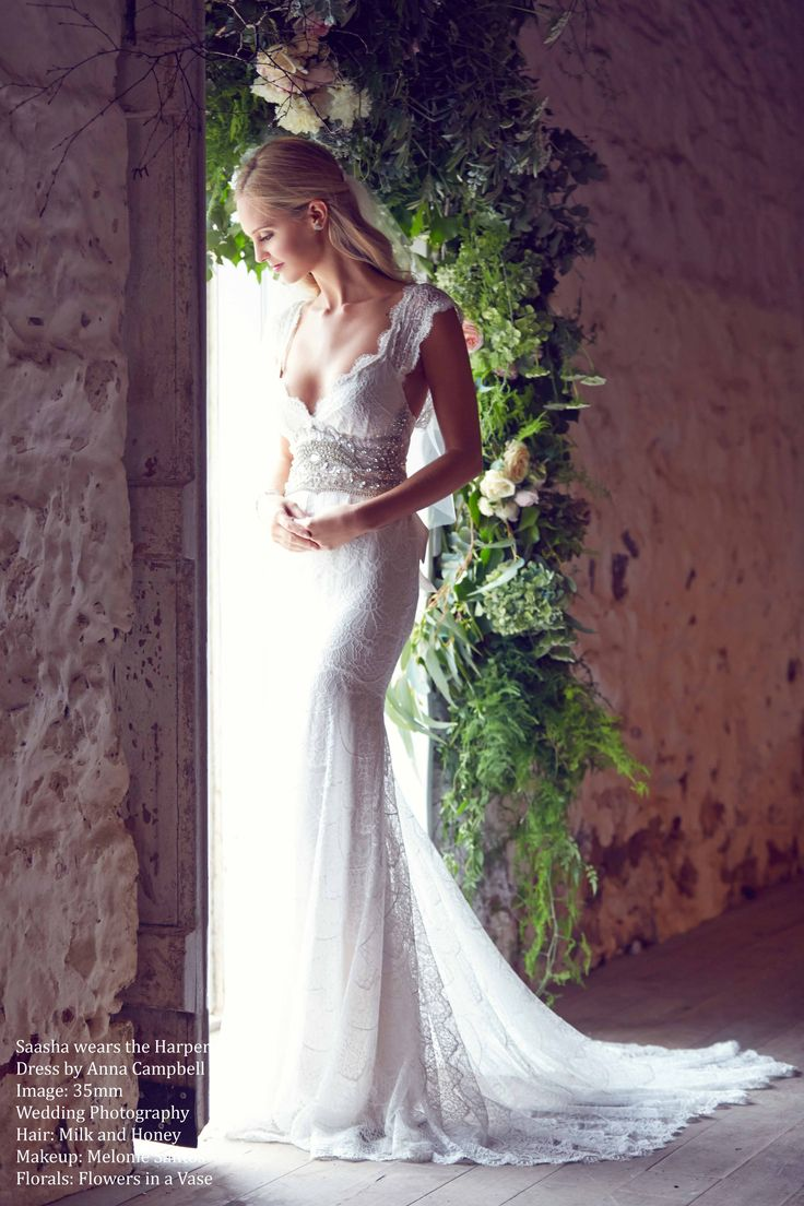 20 best images about our designers anna campbell for Anna campbell wedding dresses