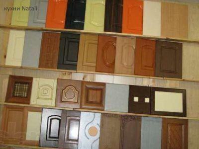 Кухонные фасады изготовленные из пленки ПВХ