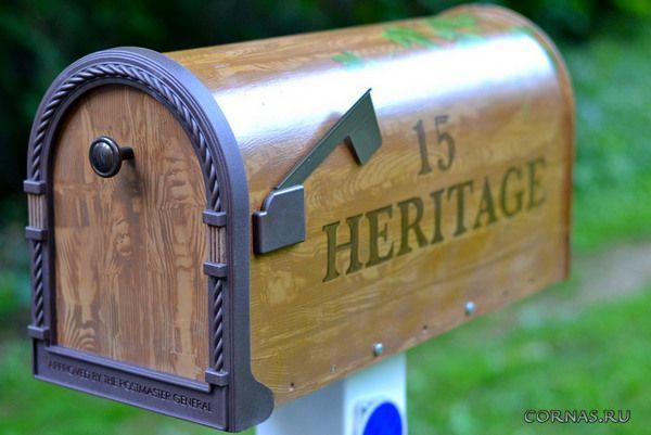 Красивые уличные почтовые ящики фото