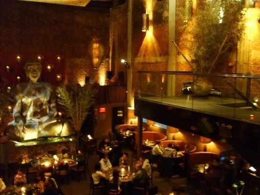 Tao, NYC.  Not going to lie - all I've actually eaten here is edamame with a martini (or three).  But you have to go for the experience - it's a very cool restaurant.