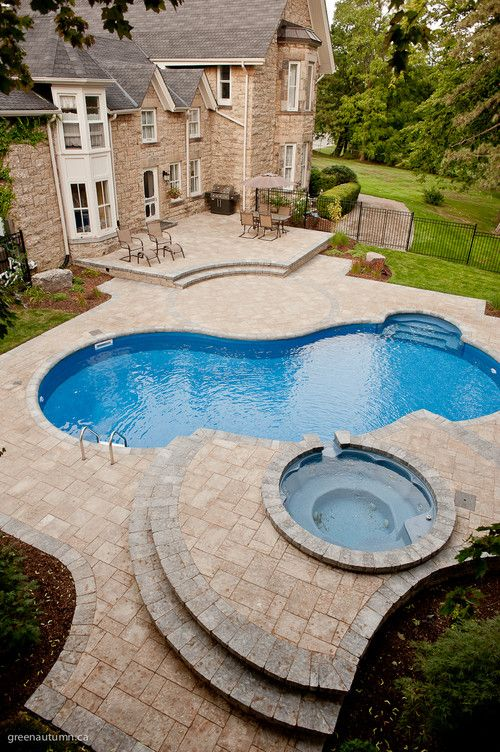 Best 25 tropical pool landscaping ideas on pinterest for Pool design hamilton