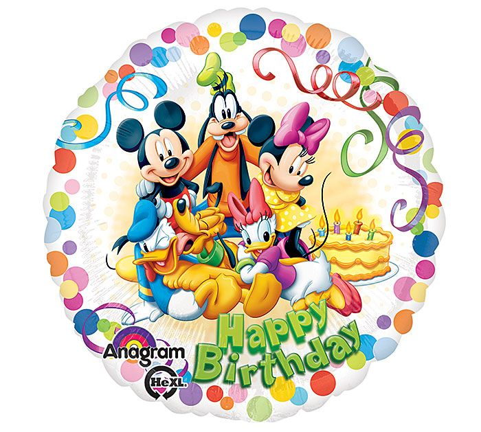 Wishes do come true with this Disney Happy Birthday Balloon! #burtonandburton