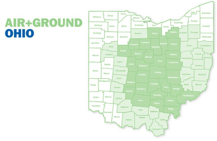 What Areas Does Medflight Advantage Cover In Ohio Anywhere You