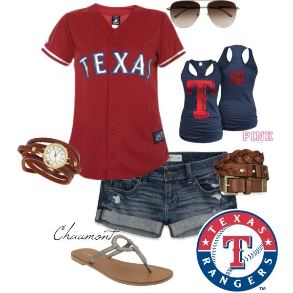 """Rangers Game!"" by chaumont on Polyvore"