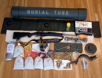 How To Build a PVC Pipe Survival Cache - Time capsule