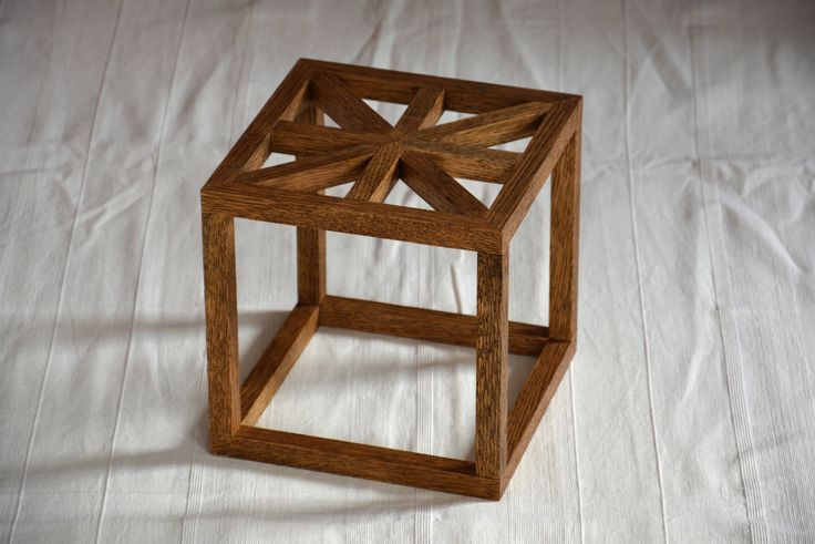 Geometric plant stand, available here: https://www.etsy.com/listing/544125655/geometric-plant-stand