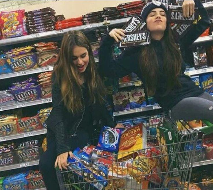 Buy all the food we like