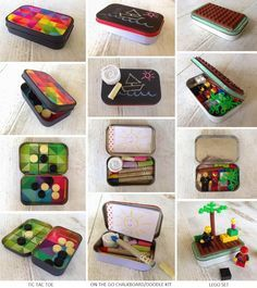 8 Incredibly Creative DIY Altoids Tin Traveling Toy Kits