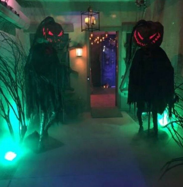 Details About Halloween Haunted House Props Decor Outside