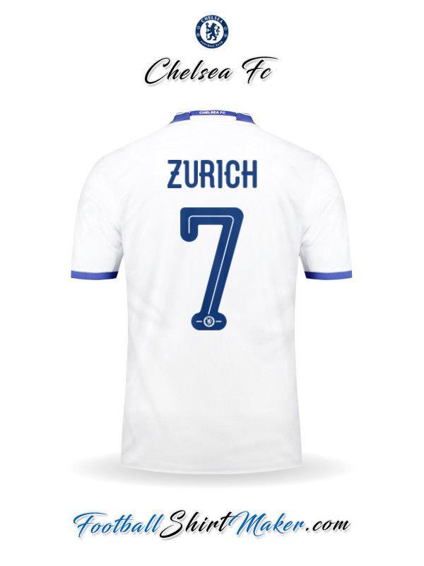 Camiseta Chelsea 2016/2017 UCL Tercero Zurich 7