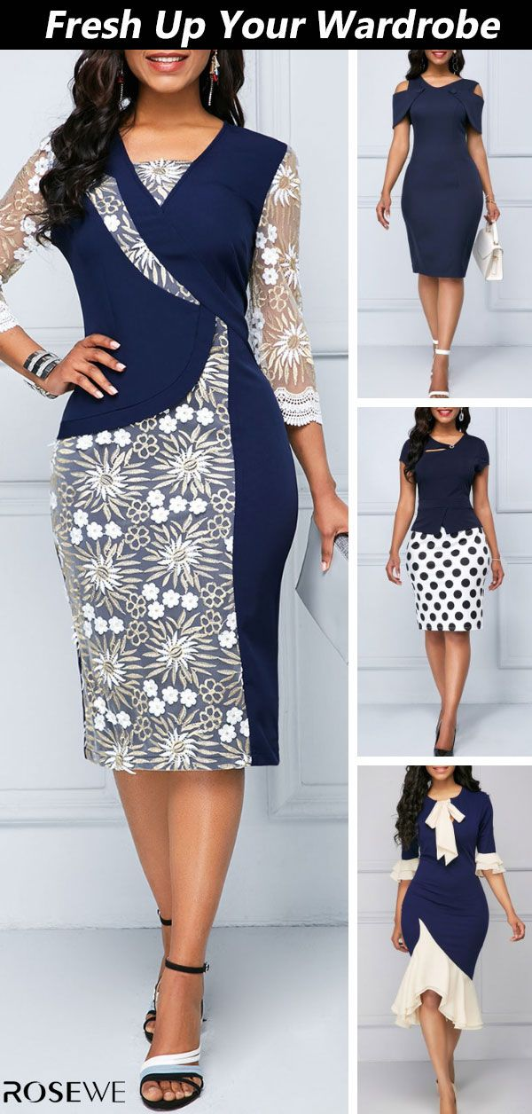 Stand out this spring and summer for all the right reasons with pretty dress. – Rosewe