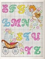 Gallery.ru / Фото #115 - PONTO CRUZ monograma, abc, letras - amor-sobrenatural