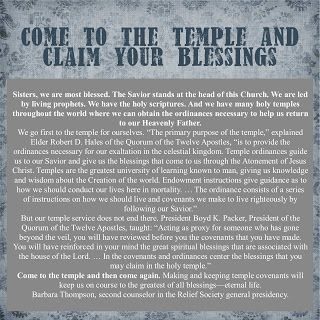 Prepared NOT Scared!: Temples