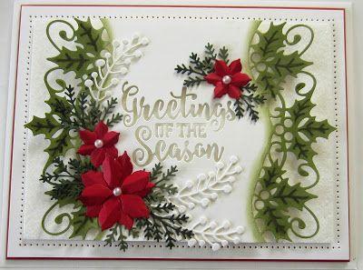 PartiCraft      (Participate In Craft): Festive Greeting Card