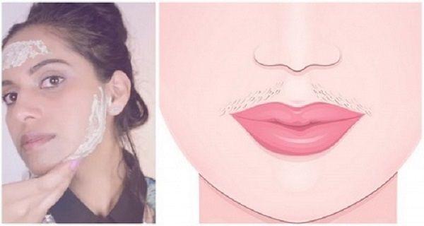 Dörzsölje ezt a keveréket az arcodon, és minden kellemetlen szőrszálak elmúlik…