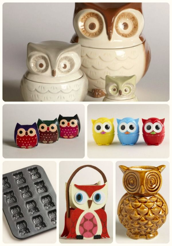 worldmarket has tons of owl decor