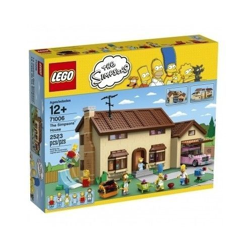 NEW LEGO Simpsons  The Simpsons Collection Springfield House Figures Sealed New  | eBay
