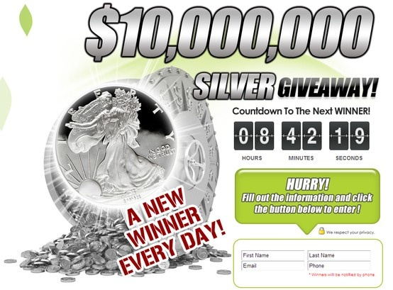 Would you like to win FREE Silver?