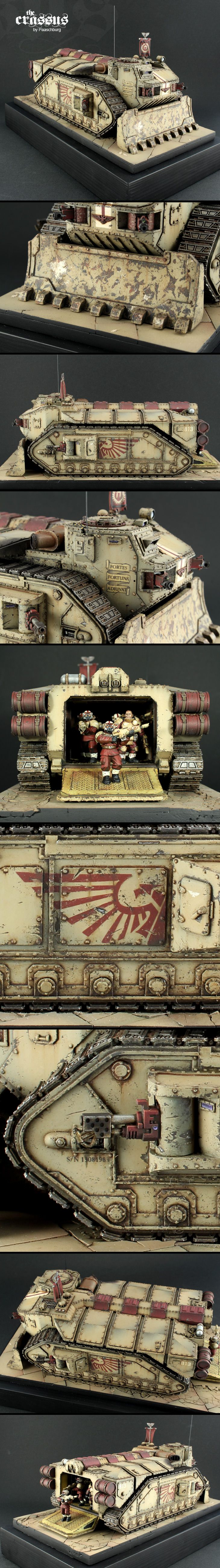 40k - Imperial Guard Crassus Transport by Paaschburg
