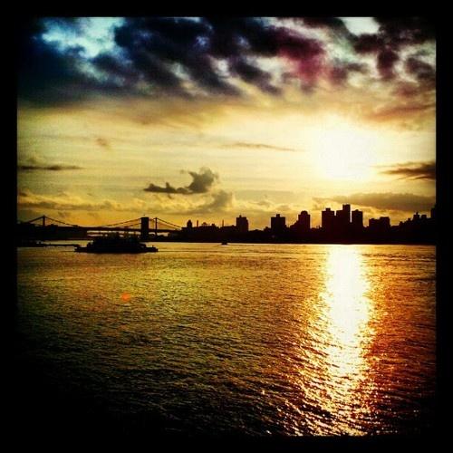 Brooklyn Staten Island Car: Sunrise Over Brooklyn LiveFromNY Via StatenIsland Ferry