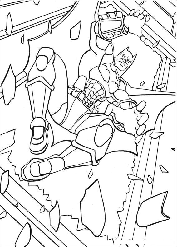batman begins coloring pages - photo#18
