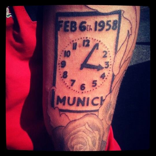 Tattoo munich man utd