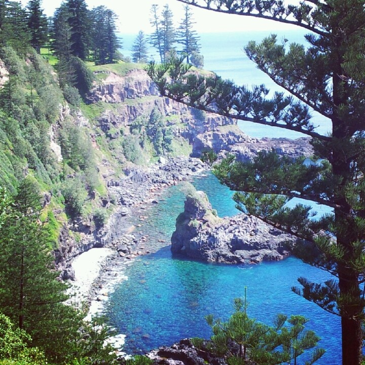 Puppy's Point view, Norfolk Island