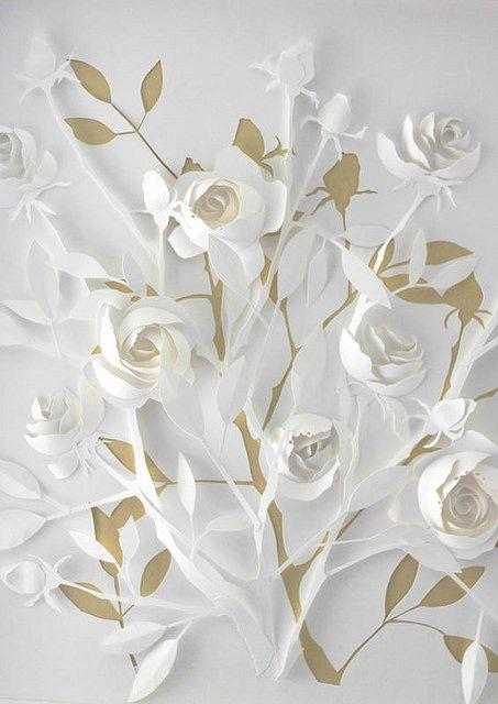 Paper Sculpture by Marina Adamova