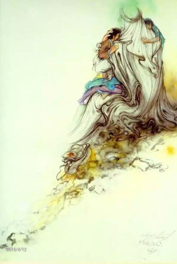 عکس نقاشی های استاد محمود فرشچیان