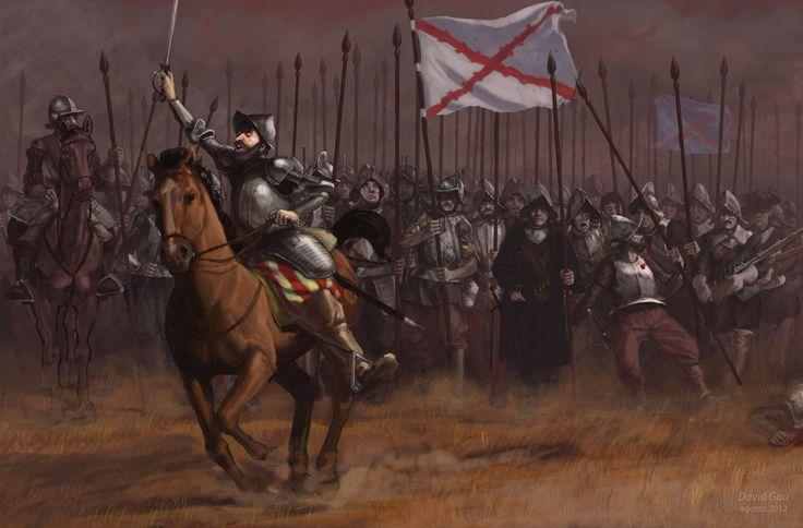 Spanish Pikemen, Battle of Rocroi, Thirty Years War