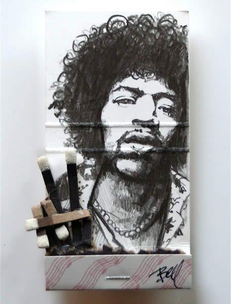 matchbook artMusic, Photos Gallery, Jimi Hendrix, Art Prints, Book Pages, Matchbookart, Sunday Brunches, Mike Belle, Matchbook Art