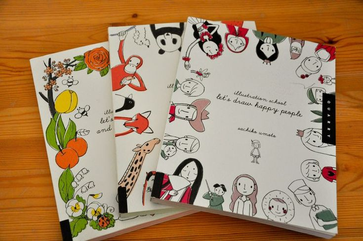 we already have gotten the cute animals one, but she'd love the rest of sachiko umoto's drawing books.