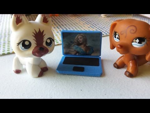 How to Make an LPS Dog Pet Bed 2: Doll DIY - YouTube