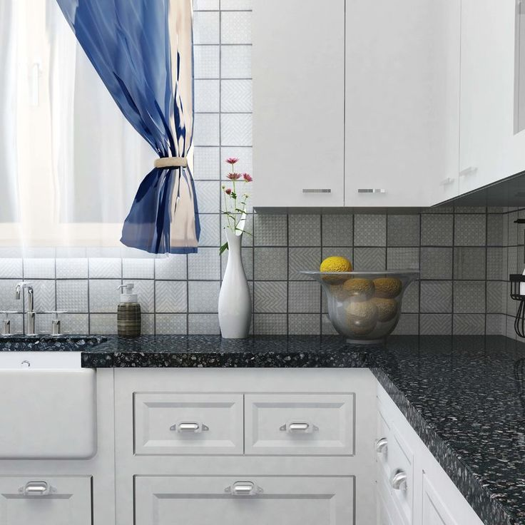 Embellish your kitchen or bathroom in a