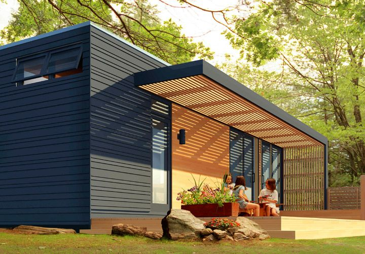 Modern prefab homes portland oregon mobile homes ideas for Prefab garage ontario