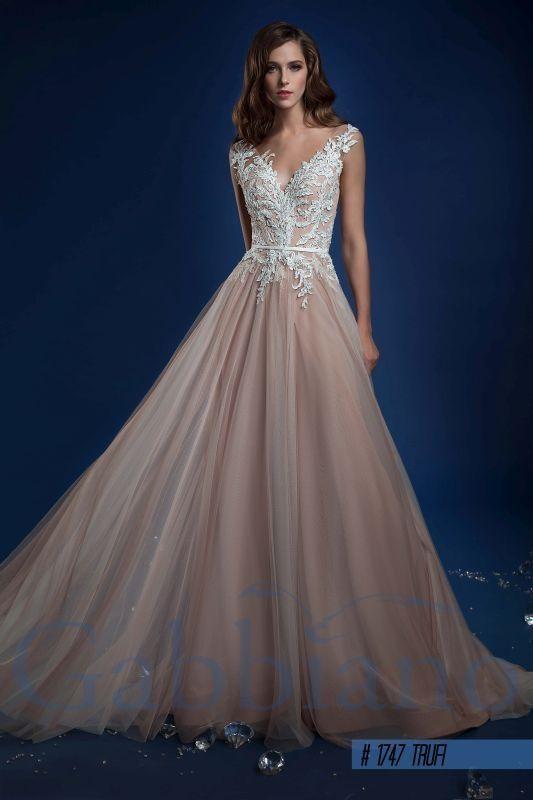 Труфи - Прямые свадебные платья