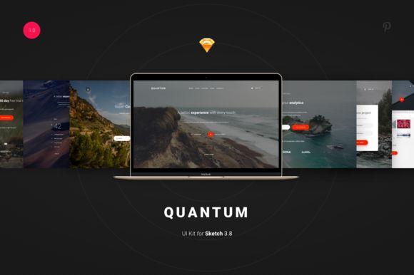 Quantum UI Kit  by Spline on @creativemarket