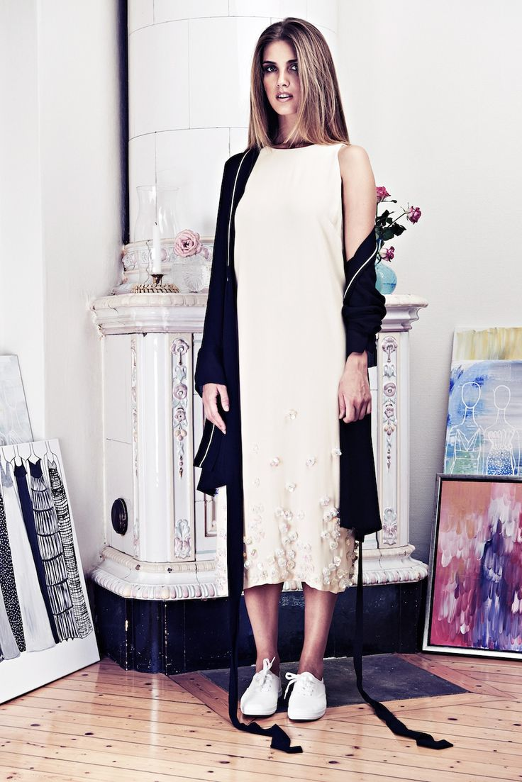 Lookbook SS15 Viktoria Chan fashion label, Scandinavian fashion, powder, sporty chic
