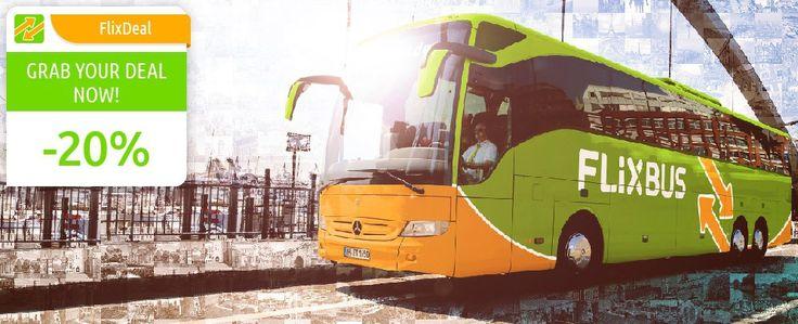 Bus travel through Europe  FlixBus
