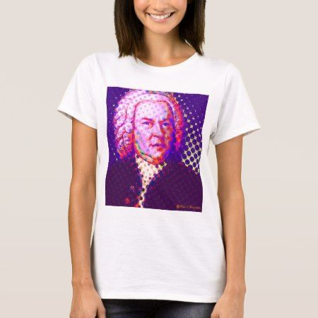 Pop Bach T-Shirt - click/tap to personalize and buy