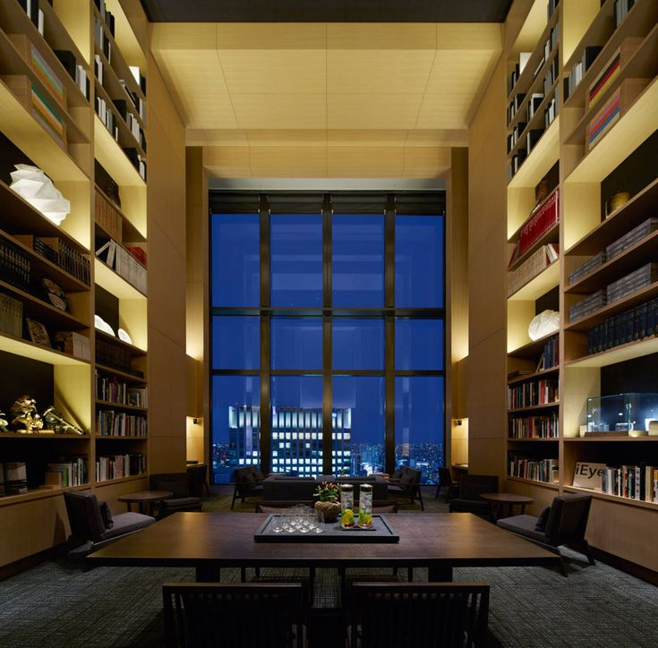 Aman Tokyo, The Library