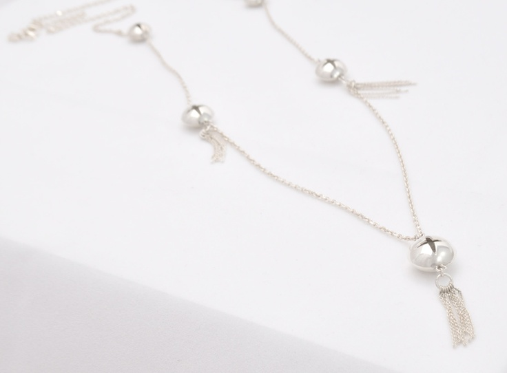 Dangle Sterling Silver Necklace