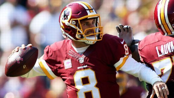 Washington Redskins quarterback Kirk Cousins already is hoping for something other than a long-term deal: a home game in Week 2. That way, there's a better chance of him being around for the birth of his first child. Otherwise, he'll be presented with a difficult decision. Cousins' wife,...