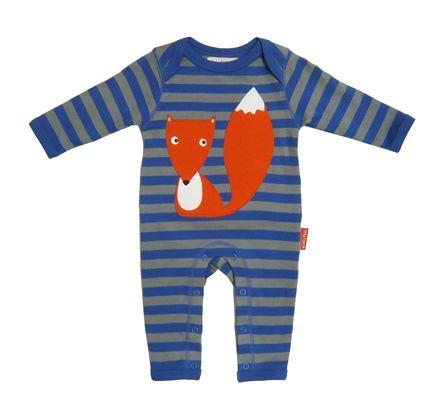Organic Cotton Baby Pyjama - Fox-