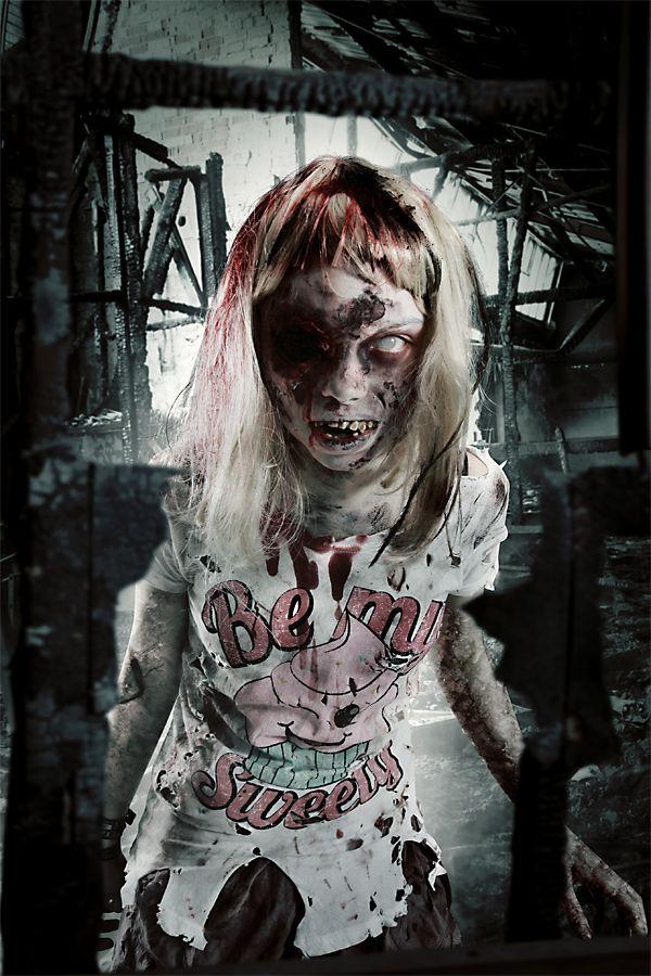 Zombie bitch porn