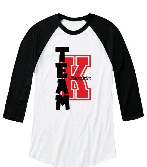 Kindergarten Team T-shirt Teacher Red